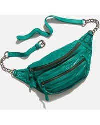 Free People Archer Chain Belt Bag - Green