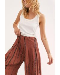 Free People Daydream Culotte Pants - Multicolor
