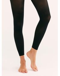 Free People Capezio 1917 Footless Tights - Black