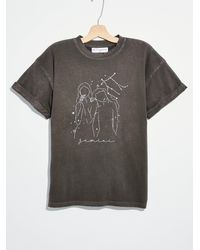 Free People Zodiac Collection Tee - Gray