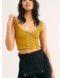 Free People Hailey's Henley Brami - Green