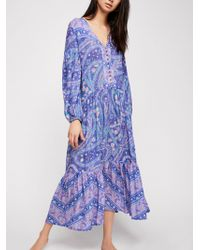 Free People - City Lights Gown - Lyst