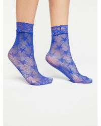 Free People - Count Your Stars Net Anklet - Lyst