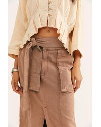 Free People Catching Feelings Skirt - Multicolour