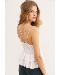 Free People Adella Cami By Intimately - White