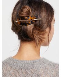 Free People | Oval Tort Hair Stick | Lyst