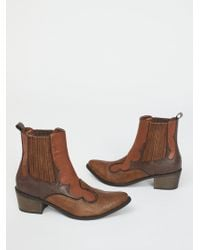 Free People Shoes Boots Ankle Boots Vegan Cavalier Boot - Brown