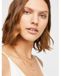 Free People - Siene Tiered Necklace - Lyst