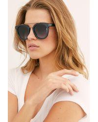 Free People Metal Oversized Cat-eye Sunglasses - Multicolor