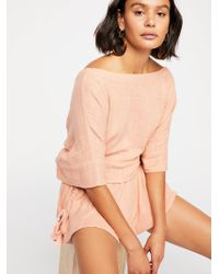 Free People - Salty Air Co-ord - Lyst