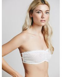 Free People | Essential Lace Bandeau | Lyst