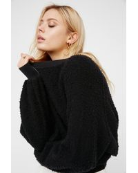 Free People Found My Friend Sweatshirt - Black