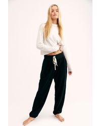 Free People Slouch Jogger By Intimately - Black