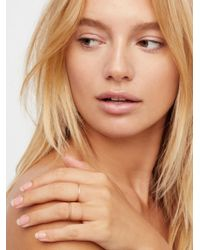 Free People - 14k Core Stacking Rings - Lyst