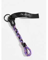 Free People Electric Cord Keychain - Multicolour