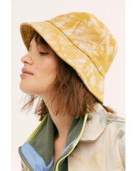 Free People - Tie Dye Throwback Bucket Hat - Lyst