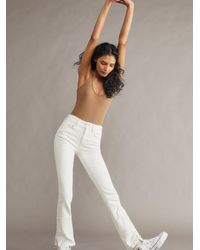 Free People Shayla Bootcut Jeans - White