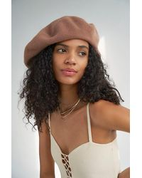 Free People Margot Slouchy Beret - Multicolour