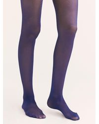 Free People Time To Shine Tights - Blue