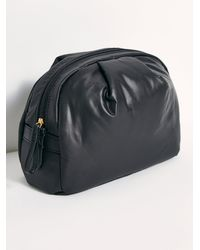 Free People Medium Nimbus Cosmetic Pouch - Black