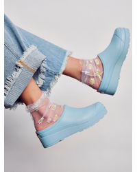 Free People Hunter Play Clogs - Blue