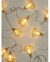 Free People - Shine On Geo Frame String Lights - Lyst