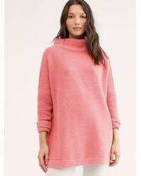 Free People Ottoman Slouchy Tunic - Pink