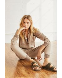 Free People Jupiter Utility Onesie By Fp Movement - Natural