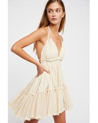Free People 100 Degree Mini Dress By Endless Summer - Multicolour