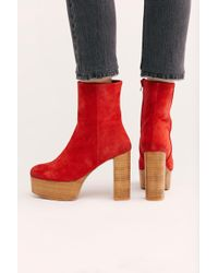 9a0ecd673c30 Free People - Friday Night Platform Boot By Fp Collection - Lyst
