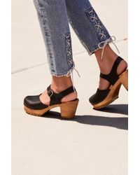 Free People Abby Clog By Mia Shoes - Black