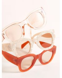Free People Matera Modern Sunglasses - Multicolor