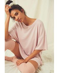 Intimately Cosy Cool Girl Sleep Tee - Multicolour