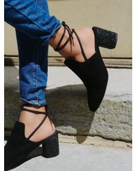 Free People - Sparkler Wrap Mule - Lyst