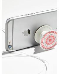 Free People Pop Socket Phone Mount - Grey