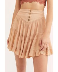 0770a622fcf5 Lyst - Free People Anza Skirt By Endless Summer in Green