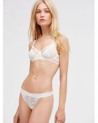 Free People - Dream Of Me Thong Dream Of Me Underwire Bra - Lyst