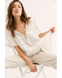 Free People Rosie Tunic By Endless Summer - White
