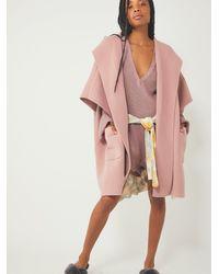 Free People All I Need Cozy Hooded Kimono - Pink