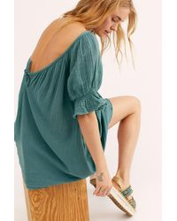 Free People Charlie Mini Dress By Endless Summer - Blue