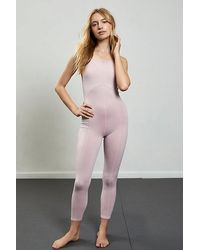 Fp Movement Side To Side Performance Onesie - Pink