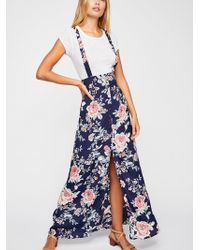Free People - Moss Maxi - Lyst