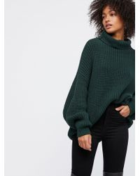 Free People Swim Too Deep Pullover - Green