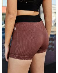 Free People Prajna Short By Fp Movement - Brown