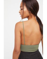 ac435f20c247e Free People - Ali Low Back Bra By Intimately - Lyst