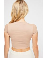 Free People - Cap Sleeve Scoop Cami By Intimately - Lyst