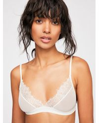Free People - Charlotte Soft Bra - Lyst