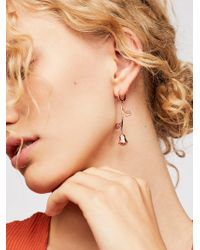 Free People - Alex Rose Hoops By Five And Two - Lyst