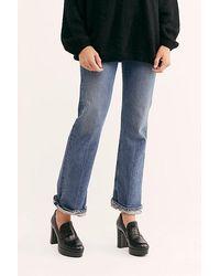Free People Ace Platform Menswear Shoe - Black