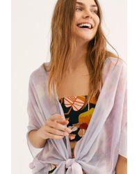 Free People - Gravity Tie Dye Kimono - Lyst